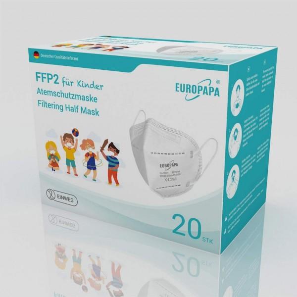 FFP2 Feinstaubmasken für Kinder